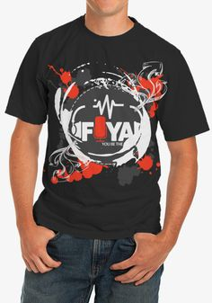 Get your FIYA custom Tee for a limited time at only $16. Cool gear for a cool cause