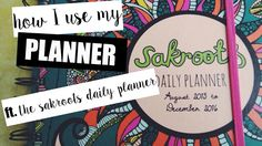 A College and Lifestyle Blog by Madeline Reyes: My Sakroots Planner & How I Use It