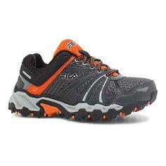 Fila Boys TKO TR Trail Running ShoeCastlerockVibrant OrangeBlackUS 15 M      More info could be found at the image url. 717b3ac0722