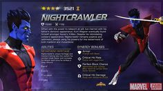 Nightcrawler in Marvel Contest of Champions