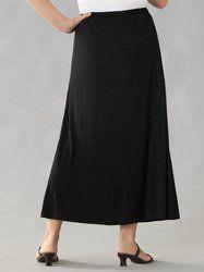 Matte Jersey A-line Skirt Ulla Popken. $49.00