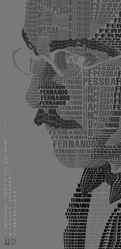 Manuel Palacios Graphic Design to the XIII Iberian Cultural Contest & Fernando Pessoa 125 Anniversary