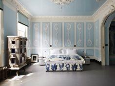 The South Kensington London Flat of Lebanese Interior Designer Danielle Moudaber..