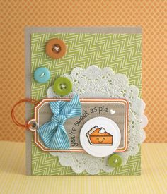 the Lawn Fawn blog cute layout!