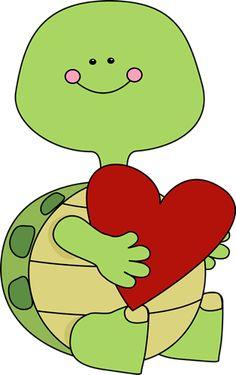 Valentines Day Turtle