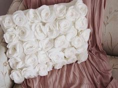 Vankúš z ruží