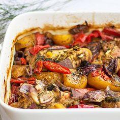 Sobrecoxas com batata baroa, pimentão e cebola roxa  E ai? Qual a sua maravilha? #maravilhasrio #batatabaroa
