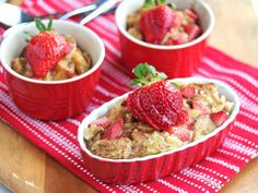Strawberry banana French toast casserole for breakfast. Sounds so good.
