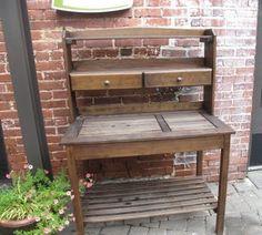 potting table