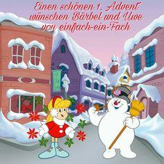 Vergesst nicht, die erste Kerze anzuzünden. Wir werden heute unseren freien Tag für Weihnachtsmarkt-Besuche nutzen.