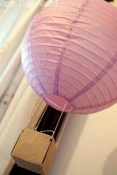 #DIY hot air balloon lanterns