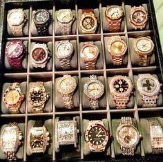 Floyd's collection bling bling !!