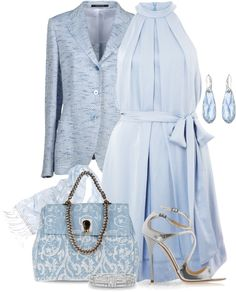 """""""Out Of The Blue"""" by yasminasdream on Polyvore"""