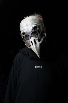 The Harbinger plague doctor mask bird skull by Ministryofmasks