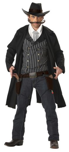 Gunslinger Cowboy Costume - Step into the shoes of the town sheriff 6149adea2fb4