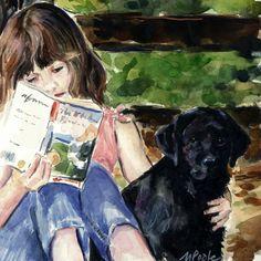 pintura de Molly Poole
