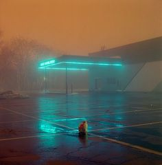 Moody Colors Night photo by © Justin Broadway reminds me of Todd Hido… Urban Photography, Night Photography, Street Photography, Artistic Photography, Urbane Fotografie, Todd Hido, Night Aesthetic, Vaporwave, Cinematography