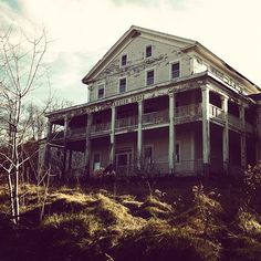 The White Lake Mansion House built in 1848, oldest summer hotel still standing in Sullivan county