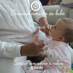 Desenvolvimento do bebê 3: sentar sem apoio 6 meses - A fisioterapeuta Leticia Swoboda ensina como ajudar os bebes a se desenvolverem no #tempojunto