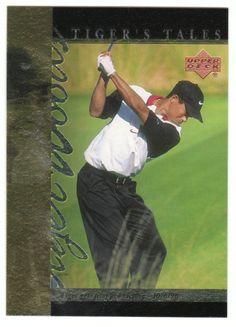 Tiger Woods # TT-13 - 2001 Upper Deck Golf Tiger's Tales