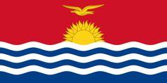 Kiribati is composed of 32 atolls and one raised coral island. Kiribati was named Gilbert Islands after the British Captain Thomas Gilbert, who sighted the islands in Venezuela Beaches, Barbados Beaches, Barbados Travel, Honduras Travel, Countries And Flags, Countries Of The World, Kiribati Island, Billie Holiday, Kiribati Flag