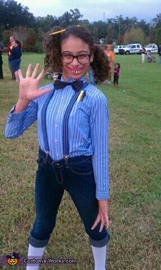 There is still time to find last minute Halloween costumes at Goodwill of East Texas! Here's an idea for a classic nerd costume. All you need is some tall socks, rolled up pants, suspenders, bow-tie, and then finish off the look with a pair of glasses and some pencils in the pocket!
