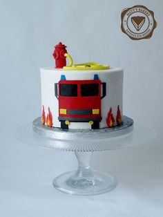 # Trailer truck You are in the right place about cup Cake Design Here we offer you the most beautiful pictures about the amazing Cake Design you are looking fo Firefighter Birthday Cakes, Truck Birthday Cakes, Fireman Birthday, Truck Cakes, Fondant Birthday Cakes, 4th Birthday, Birthday Cake Kids Boys, Fire Engine Cake, Fireman Sam Cake