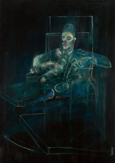 Francis Bacon, POPE, oil on canvas, 77 by 55 in. Brooklyn Museum of Art Robert Motherwell, Richard Diebenkorn, Francis Bacon Pope, Pop Art, Gerhard Richter, Foto Fashion, Willem De Kooning, Mark Rothko, Sculpture
