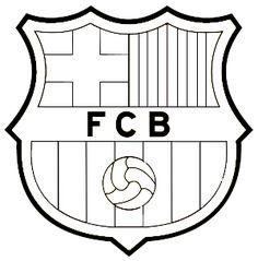 Resultado de imagen para escudo del barcelona para pintar e imprimir