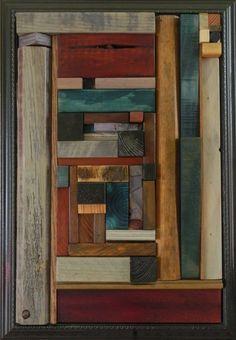 New Work - heather patterson / mema-studio Rustic Wood Decor, Reclaimed Wood Art, Rustic Wall Art, Old Wood, Wood Wall Art, Wood Sculpture, Wall Sculptures, Industrial Wall Art, Painted Driftwood