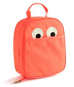 Pack your little one's sandwich in this charming googly-eyed tote and you can bet that lunch will be served with a side of giggles.