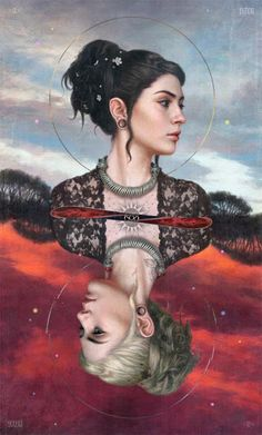 Tom Bagshaw ~ The Balance I adore his art but this- is my absolute favourite ❤ ! Illustrations, Illustration Art, Up Imagenes, Tom Bagshaw, Character Inspiration, Character Art, Arch Enemy, Arte Obscura, Caricatures