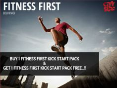 Buy 1 Fitness First Kick Start Pack and Get 1 Fitness First Kick Start Pack FREE..!!  That's not all- if you buy the City Surf BOGO - Buy 1 Get 1 Free Offers Voucher Book, you get access to 500 Buy 1 Get 1 Free offers at over 200 best places in Delhi NCR including Spas & fitness centers, valid for an entire year.!  So hurry book your copy of City Surf today at an inaugural discount of 15% (You pay only Rs 1274) Mail us now at: info@citysurf.in #discount #coupon