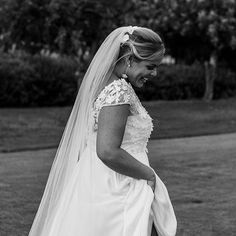 How gorgeous is Lisa wearing our 'Stella' gown by Thanks so much for sharing this with us Beautiful Bride, Brides, Lisa, The Incredibles, Gowns, Wedding Dresses, Spain, How To Wear, Image