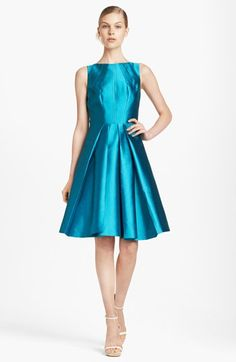 Michael Kors Seamed Silk & Wool Dress available at #Nordstrom