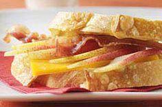 Cheddar, Bacon & Pear Sandwich