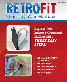 12 Best Mailbox Door Broke Images Mailbox Diy Mailbox