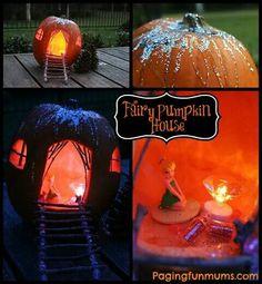 Tinker bell Punkin house