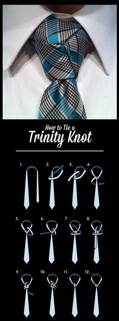 #howto #tie #trinity #knot