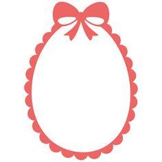 Silhouette Design Store - View Design #192358: easter scallop egg