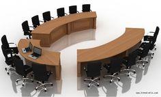 Office Table Design, Modern Office Design, Office Furniture Design, Office Interior Design, Office Interiors, Conference Table Design, Boardroom Furniture, Modern Reception Desk, Modern Sofa Designs