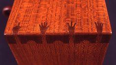 Wood Craftman Kintaro Yazawa's Original Joint Work: Small Safe with Finger Joint