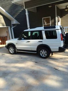 2003 land rover discovery, 87000 miles, white with tan leather, great shape, everything works as it should, transferable warranty til 109,000 miles. 440-477-8569