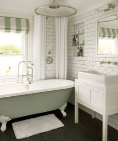 Vintage wood flooring with clawfoot tub in a rustic bathroom. Description from pinterest.com. I searched for this on bing.com/images
