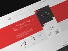 Brillinat Landing page with excellent UI and UX by spovv