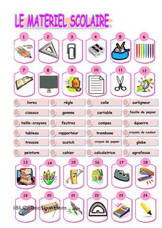 Learn French For Kids Free Printable Printing Pattern Simple Code: 8751011684 French Flashcards, French Worksheets, French Teaching Resources, Teaching French, Teaching Themes, Learning Resources, French Basics, High School French, French Grammar