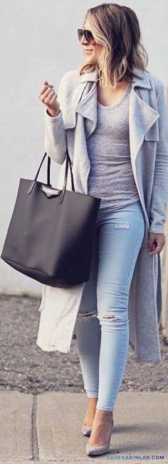 Kışlık Bayan Kaban, Mont Modelleri ve Kıyafet Kombinleri_15
