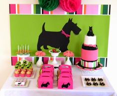 Scottie dog birthday party ideas