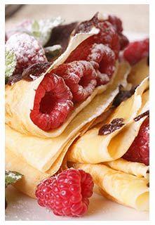 Raspberry Crepes http://mountainviewbulkfoods.com/recipes_valentine-treat-raspberry-crepes.html