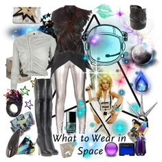 What to Wear in Space, created by minniesoda.polyvore.com
